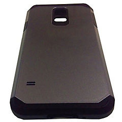 Carcasa metalizada Samsung Galaxy s5 gris