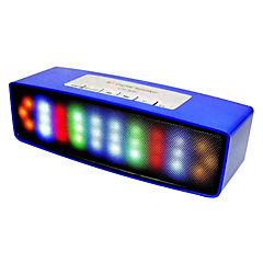 Parlante bluetooth con luces al ritmo