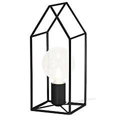 Lámpara de mesa home 60 W negra