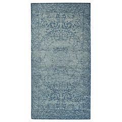 Alfombra Catania 75x165 cm azul