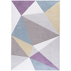 Alfombra Pastel triángulos II 160x230 cm multicolor