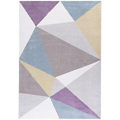 Alfombra Pastel cuadrados I 133x190 cm multicolor