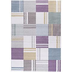 Alfombra Pastel cuadrados II 160x230 cm multicolor