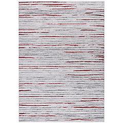 Alfombra Kurt Líneas 160x230 cm rojo