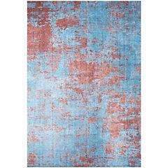Alfombra Kyle Art 230x330 cm azul claro