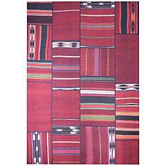 Alfombra Kyle Multicolor 160x230 cm rojo