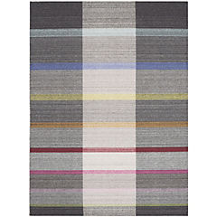 Alfombra loomknotted 140x200 cm multicolor