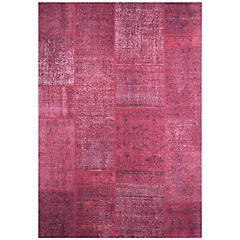 Alfombra Kyle Square 80x240 cm rojo