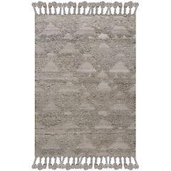 Alfombra handwoven Nepal 190x290 cm gris