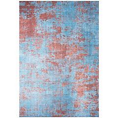 Alfombra Kyle Art 80x240 cm azul claro
