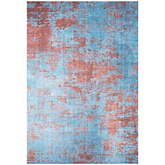 Alfombra Kyle Art 80x120 cm azul claro