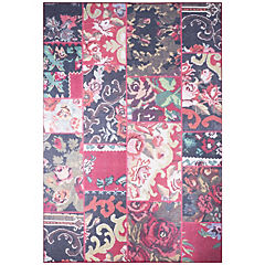 Alfombra Kyle Flowers 80x120 cm rojo
