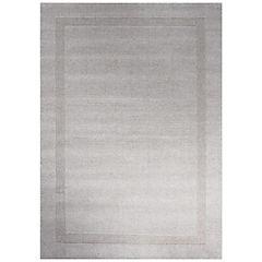 Alfombra handwoven Oslo 140x200 cm gris claro II