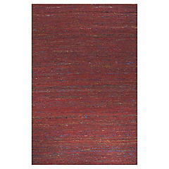 Alfombra Kelim Sari 190x290 rojo