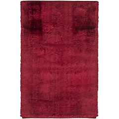 Alfombra palace shaggy rojo 80x120 cm