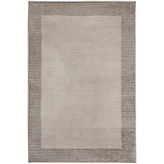 Alfombra Marseilles borde 80x120 cm gris
