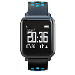 Reloj inteligente deportivo azul