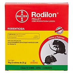 Raticida en pellet 50 gr