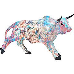 Toro multicolor resina
