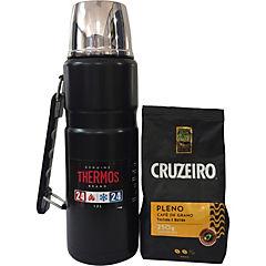 Termo líquido 1,2 l + café