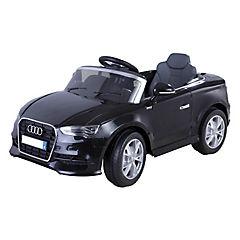 Automóvil a batería Audi Negro