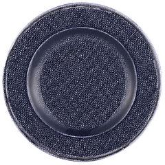 Plato ensaladera 21 cm melamina azul