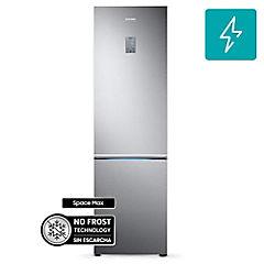 Refrigerador no frost bottom freezer 367 litros silver