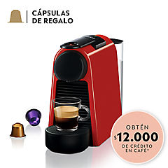 Cafetera Essenza mini 0,6 litros rojo