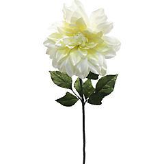 Dahlia 72 cm blanco