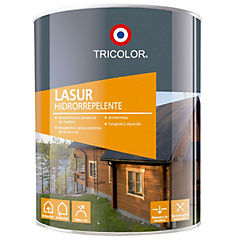 Set 6 Lasur protector madera 1/4 gl roble