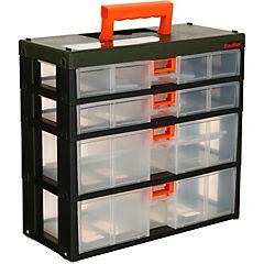 Organizador modular 29,5x30,5x14 cm plástico
