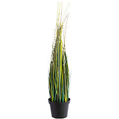 Planta maceta 47 cm plástico verde