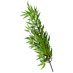 Vara bambo 93 cm plástico verde