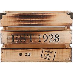 Caja madera con remache 24cm