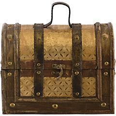 Baúl madera dorado