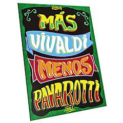 Cartel más vivaldi, menos pavarotti verde