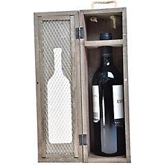 Portabotellas de madera  I Love Wine