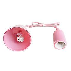 Lámpara de colgar Silicona rosa E27 40W