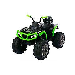 Moto monster a batería Verde