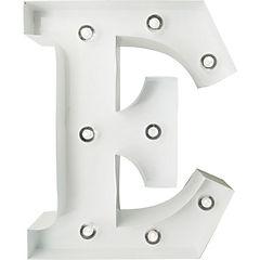 Letra Metálica Led E 20x25 cm