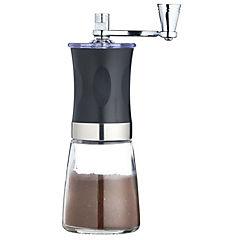 Molinillo de cafe manual + cafetera italiana 6 tazas