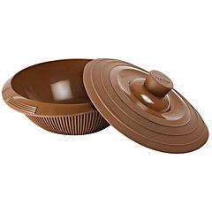 Bowl para fundir chocolate + molde chocolate fantasía