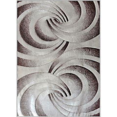 Alfombra frize carved 170x230 crema
