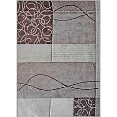 Alfombra frize carved 150x200 cm beige