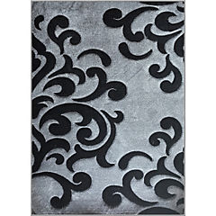 Alfombra frize carved 170x230 cm gris