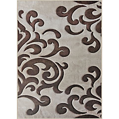 Alfombra frize carved 170x230 cm beige