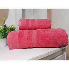 Set toallas 500g 2 piezas fucsia