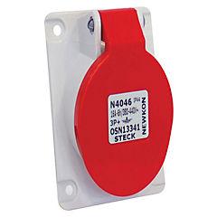 Enchufe industrial hembra embutida 3p+n+t 32a 440v ip44