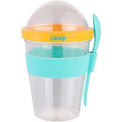 Vaso para yoghurt plástico 450 ml Calipso
