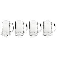 Set 4 Cerveceros mug 320 ml, artisan